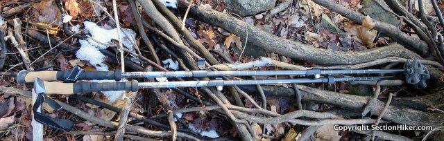 Cascade Mountain Tech's Carbon Fiber Trekking Poles are ultralight three section flick-lock poles priced under $50.