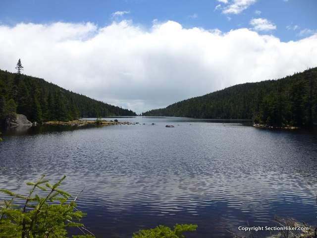 Speck Pond on the Maine Appalachian Trai