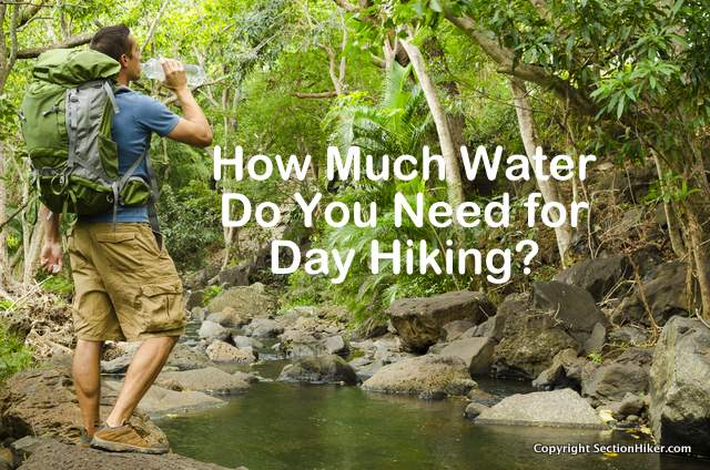 Water for Day Hiking