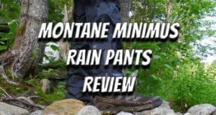 Montane Minimus Rain Pants Review