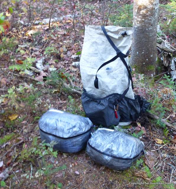 Hyperlite Mountain Gear Pods are cuben fiber storage cubes that fit  perfectly into Hyperlite s backpacks 67e929d6cd10