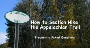 Section Hike the Appalachian Trail FAQ
