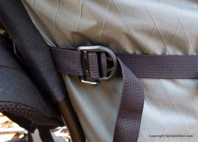 Gatekeeper compression strap buckles