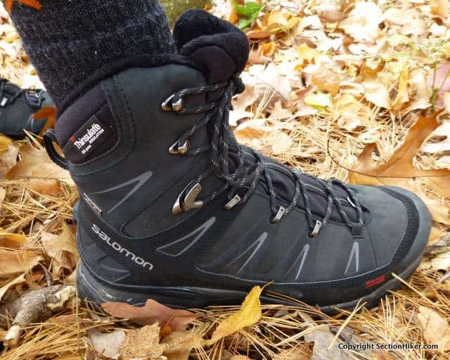 new concept 3e877 bd269 Salomon X Ultra Winter Climashield Waterproof Boots Review ...