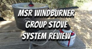 MSR Windburner Group Stove Review
