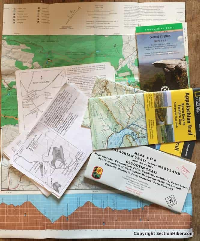 Do You Need Maps to Hike the Appalachian Trail? - Section ...