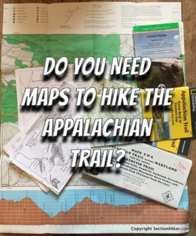 Do you need maps to hike the appalachian trail
