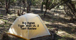 Big Agnes Tiger Wall UL 2 Tent Review