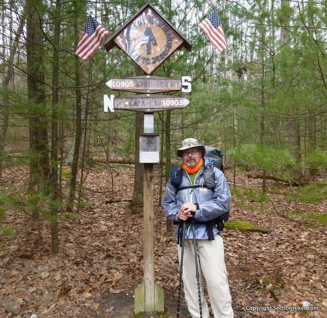 Appalachian Trail Mid-Point Sign, Pennsylvania April 2018