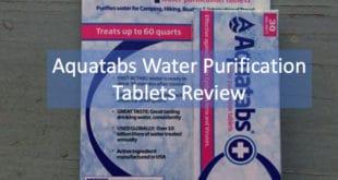 Aquatabs Product Review