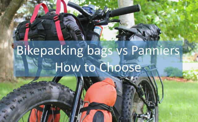 Bikepacking Bags vs Panniers: How to Choose - Section Hikers