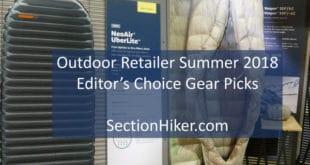 Outdoor Retailer 2018 Editor's Choice