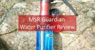 MSR Guardian Water Purifier Review