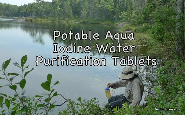 Cool Potable Aqua Iodine Water Purification Tablets Review Home Interior And Landscaping Ologienasavecom