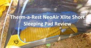 Thermarest NeoAir Xlite Short Sleeping Pad Review
