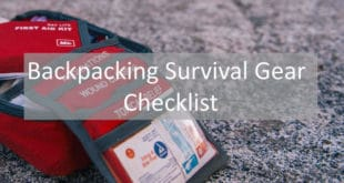 Backpacking Survival Gear Checklist