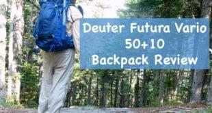 Deuter Futura Vario 50+10 Backpack Review