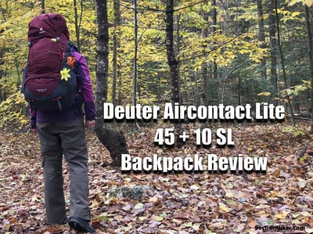 922d47d7e5a Deuter Aircontact Lite 45 + 10 SL Women's Backpack Review - Section ...
