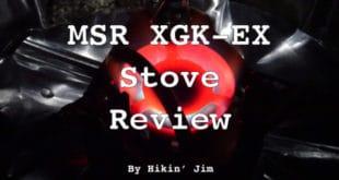 MSR XGK-EX Stove Review