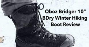 Oboz Bridger 10 BDry Winter Hiking Boot Review