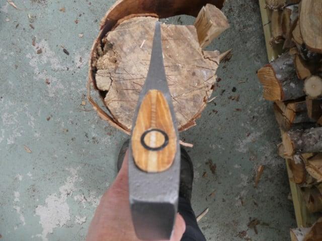 The Bjork's narrow head splits seasoned wood well