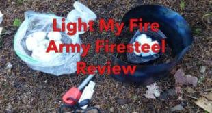 Light my Fire Army Firesteel Review