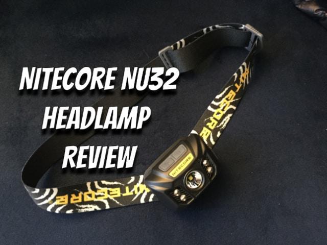 Nitecore NU32 Headlamp Review