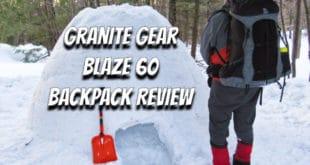 Granite Gear Blaze 60 Backpack Review