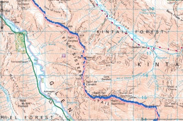 Routeplanning in ViewRanger