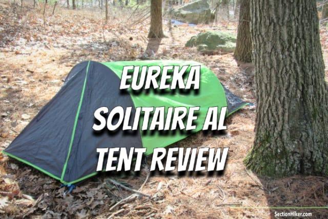 Eureka Solitaire AL tent Review