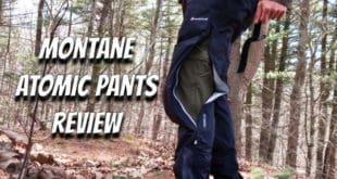 Montane Atomic Rain Pants Review