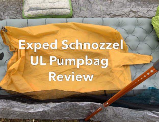 Exped Schnozzel Pumpbag Review