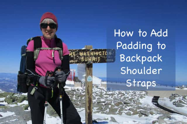 How to Add Extra Padding to Backpack Shoulder Straps