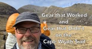 Cape Wrath Trail Gear List Critique