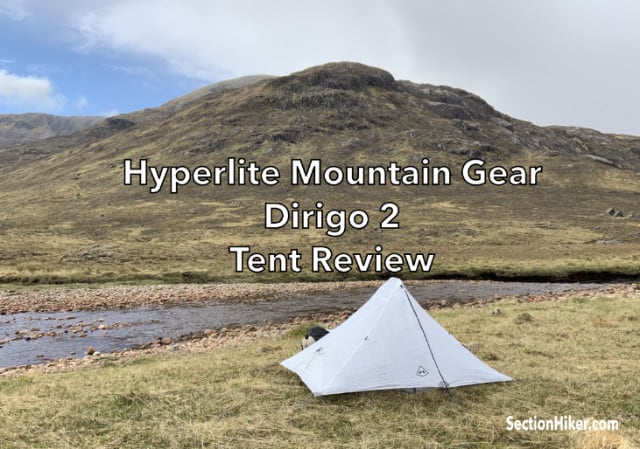 DCF Dyneema Tent in Scotland