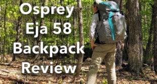 Fully loaded backpack