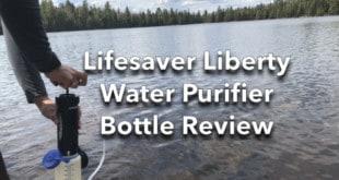 Water Purifier at Lake