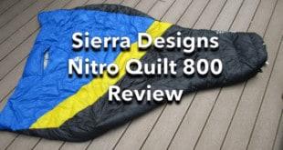 Sierra Designs Nitro Quilt 800 Review