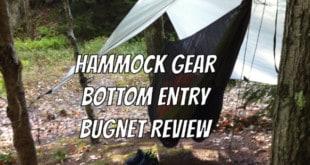 Hammock Gear Bottom Entry Bug Net