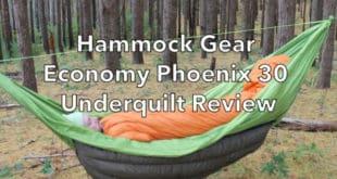 Hammock Gear Economy Phoenix Underquilt