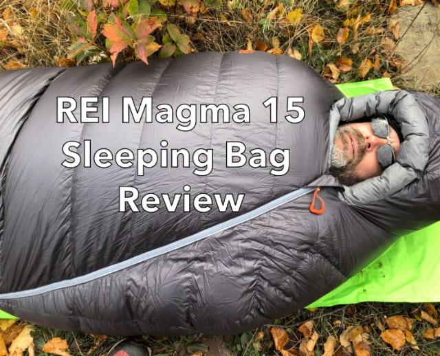 REI Magma 15 Down Sleeping Bag Review