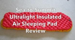 Sea-to-Summit Ultralight Insulated Air Sleeping Pad