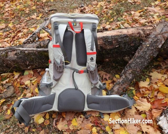 Flex Capacitor backpack ventilation