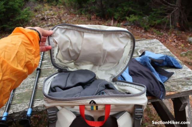 Flex Capacitor Backpack Lid
