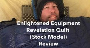Enlightened Equipment Revelation Quilt Review