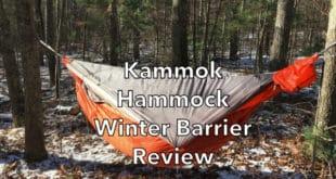 Kammok Hammock Winter Sock Review