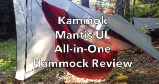 Kammok Mantis Ultralight All-in-One Hammock tent Review