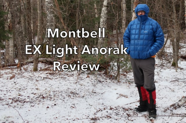 Montbell EX Light Down Anorak Hoody review