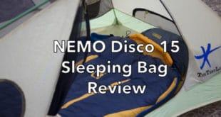 NEMO Disco 15 Sleeping Bag Review