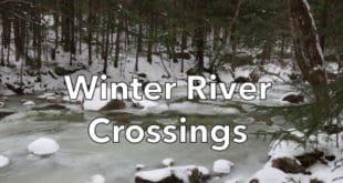 Winter River Crossings